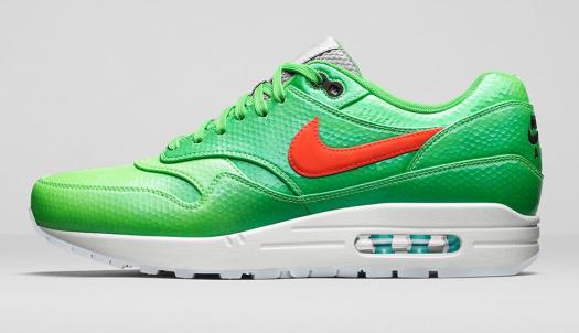 Nike Air Max 1 FB Premium Mercurial Pack Green & Crimson