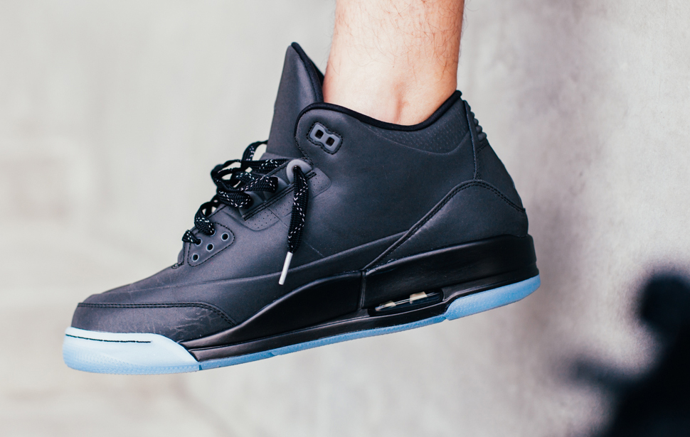 air jordan 3 all black
