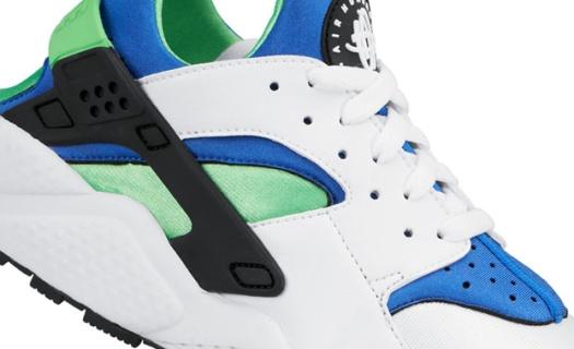 Nike-Air-Huarache-Scream-Green-White-1