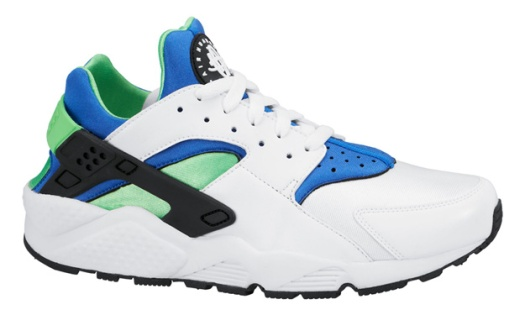 Nike-Air-Huarache-Scream-Green-White-2