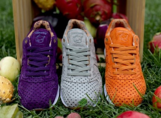 Saucony x Play Cloths Shadow 5000 'Strange Fruit' fruit crate