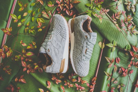 Saucony x Play Cloths Shadow 5000 'Strange Fruit' green 01