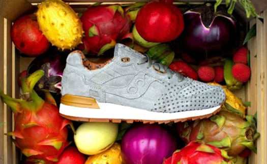 Saucony x Play Cloths Shadow 5000 'Strange Fruit' green crate
