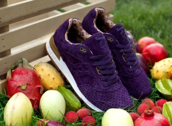 Saucony x Play Cloths Shadow 5000 'Strange Fruit' purple fruit